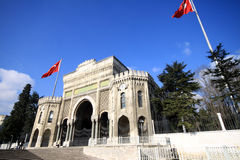 Istanbul University Royalty Free Stock Image