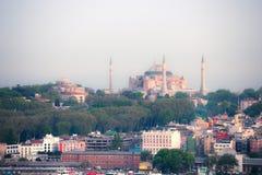 Istanbul urban view royalty free stock photo