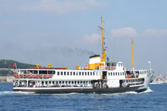 istanbul vapur Royaltyfria Bilder