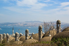 Istanbul view Stock Photography