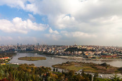 Istanbul, view from Eyup Stock Photo