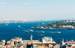 Istanbul View Royalty Free Stock Images