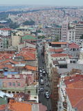 Istanbul. View from Galata Tower Stock Photos