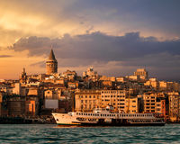 Istanbul View Stock Photo