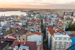 Istanbul, view from Galata tower Royalty Free Stock Photo