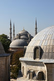 Istanbul,view from Hagia Sophia Royalty Free Stock Image