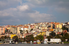 Istanbul, view from the sea Stock Photo