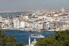 Istanbul view Stock Photos