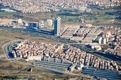 Istanbul-Vogelperspektive lizenzfreies stockfoto