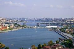 Istanbul-Vogelperspektive stockfoto