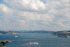 Istanbul-Vogelperspektive stockbilder