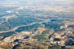 Istanbul-Vogelperspektive lizenzfreies stockbild