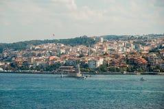 Istanbul-Vogelperspektive stockbild