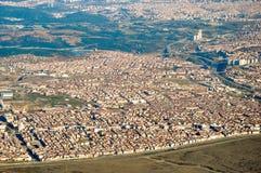 Istanbul-Vogelperspektive stockfotografie