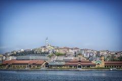 Istanbul vom Boot Lizenzfreie Stockbilder