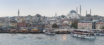 Istanbul from the water Royalty Free Stock Photos