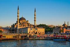 Istanbul, Yeni Cami, Turkey royalty free stock image