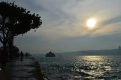istanbul zmierzch Fotografia Stock