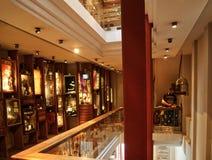 Interior museum of innocence. Istanbulm Turkey, 05/19/2018 Museum Orhan Pamuk, interior royalty free stock photo