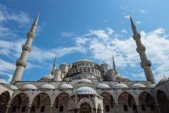 Istanbuls蓝色清真寺 库存图片