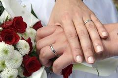 Istantanea di nozze Immagine Stock