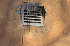 Istapp ovanför lufthålet Fotografering för Bildbyråer