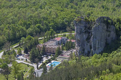 Istarske Toplice in Istria Stock Photos
