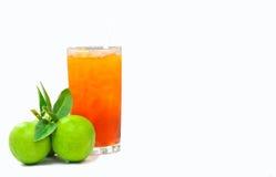 IsTea med citronen Royaltyfri Bild