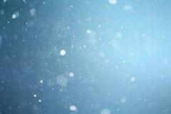 Istextur, makro, blå bruten förkylning Arkivfoton