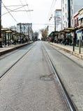 Istiklal街在伊斯坦布尔 免版税库存图片