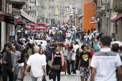 Istiklal Avenue -Istanbul, Turkey Royalty Free Stock Image