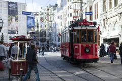 Istiklal caddeis in istanbul Stock Photos
