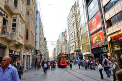Istiklal kad. Stock Photography