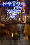 Istiklal Straße, Taksim Stockfotografie