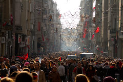 Istiklal Street Royalty Free Stock Images