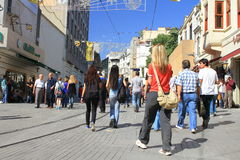 Istiklal Street Stock Images