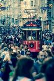 İstiklal street royalty free stock image