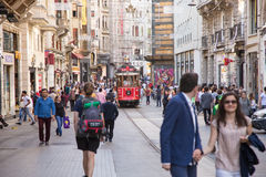 Istiklal Street Stock Photo
