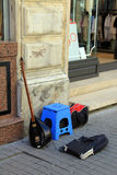 Istiklal street musical instruments Royalty Free Stock Photos