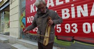 Istiklal Street pedestrian street stock video footage
