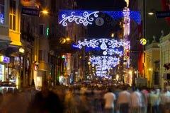 Istiklal Street, Taksim Royalty Free Stock Image