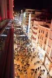 Istiklalstraat, ?stanbul Turkije Stock Foto