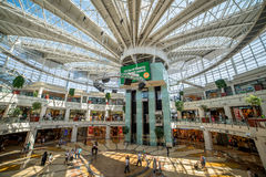Istinye Park shopping mall in Istanbul, Turkey. Istanbul, Turkey - July 16, 2015: Istinye Park shopping mall in Istanbul, Turkey Stock Photos