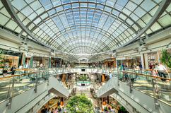 Istinye Park shopping mall in Istanbul, Turkey. Istanbul, Turkey - July 16, 2015: istinye Park shopping mall in Istanbul, Turkey Royalty Free Stock Images