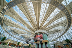 Istinye Park shopping mall in Istanbul, Turkey. Istanbul, Turkey - July 16, 2015: istinye Park shopping mall in Istanbul, Turkey Stock Images