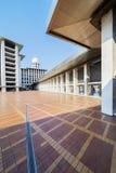Istiqlal清真寺圆顶在蓝天下 免版税图库摄影