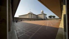 Istiqlal清真寺美好的建筑学  免版税库存照片