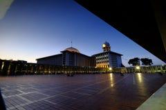 Istiqlal, mosquée nationale de l'Indonésie à Jakarta Images stock