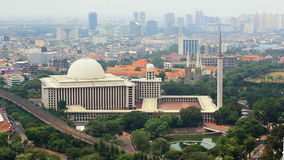 Istiqlal mosque, jakarta, indonesia. Forth biggest in the world Stock Photos