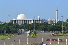 Istiqlal Mosque, Jakarta, Indonesia Royalty Free Stock Image